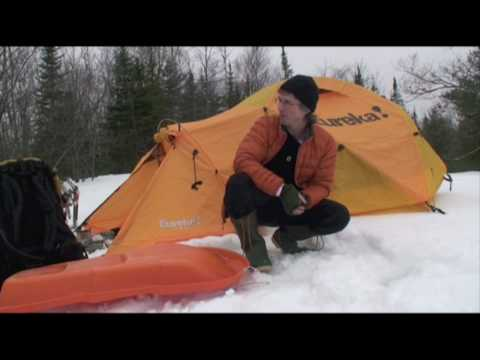 Winter Camping in Killarney Provincial Park