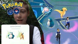 Dragoran & Relaxo in einem Wald + Lapras & Nockchan fangen! • Pokémon Go deutsch