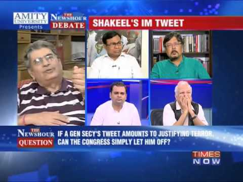 The Newshour Debate:On Shakeel Ahmed's Tweet (FULL DEBATE)