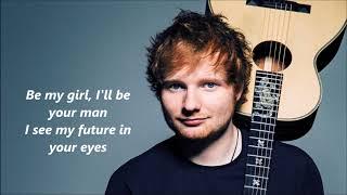 Download Lagu Ed Sheeran - Perfect lyrics Gratis STAFABAND