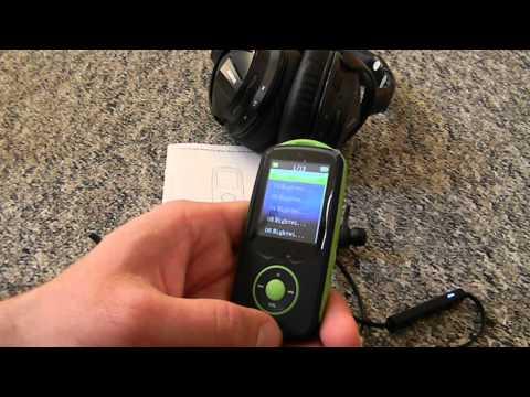 Mp3 Bluetooth Player kabellose Musik Übertragung 50h Spielzeit