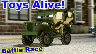 Cars 2: The video Game - Camo Sarge - Hyde Tour Battle Race