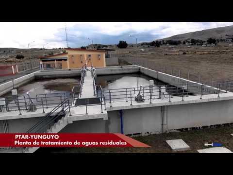 Planta de tratamiento de aguas residuales PTAR Yun