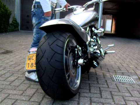 M109R Intruder custom Thunderbike Arnott Air-ride. raw design Suzuki Vzr 1800