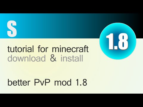 BETTER PvP MOD 1.8 minecraft - how to download and install (with forge)