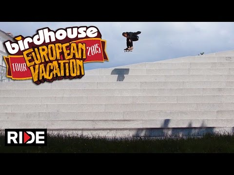 Birdhouse Skateboards European Tour 2015 - Part 1 of 3