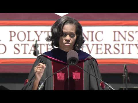 Virginia Tech: Michelle Obama's Commencement Address