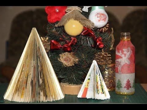 Новогодние игрушки на ёлку своими руками из подручных материалов фото