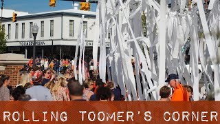 The Story Behind Auburns Rolling of Toomers Corner Traditions Sports Illustrated