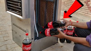 Coca-Cola vs Cooler Experiment || 20 Litre Coca-Cola Inside Air Cooler || Experiment King