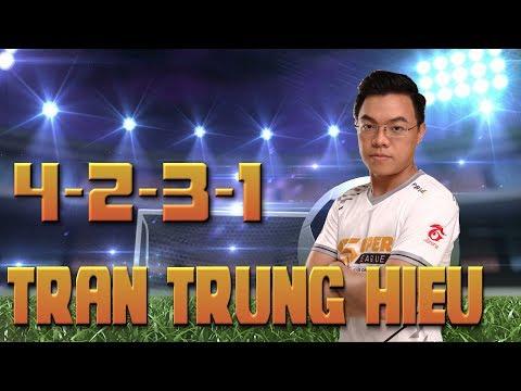 Review Chiến thuật 4-2-3-1 Trần Trung Hiếu - 1st Super League 2 Việt nam