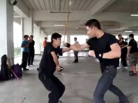 Kali / Arnis / Eskrima Training at Marikina City, Philippines (hosted by Doce Pares Europe)