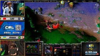 WarCraft 3 Gold 2017  Foggy(NE) vs 120(UD) c Майкером