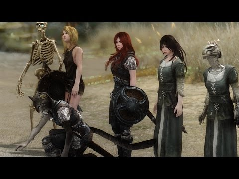 Robot voice Skyrim mods reviews - Sassy Girl Followers
