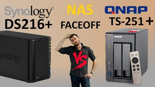 The Synology DS216+ vs The QNAP TS-251+ NAS Battle faceoff - Can the TS-251+-2G faceoff Synology?