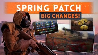 ► SPRING UPDATE PATCH NOTES & NEW FEATURES! - Battlefield 1 (Server Passwords & Level 10 Weapons)