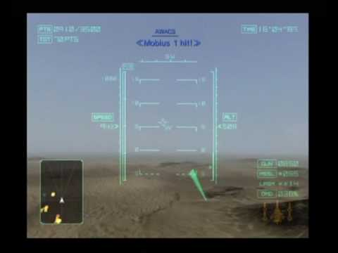 ace combat 04 distant thunder mission 16 whiskey corridor # 1/2