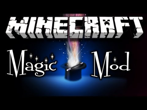 Minecraft Magic Mod Review (HD)