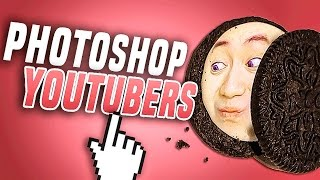 Photoshop con YOUTUBERS