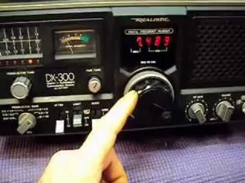 REALISTIC DX-300 COMMUNICATIONS RECEIVER (AM/SHORT WAVE RADIO)