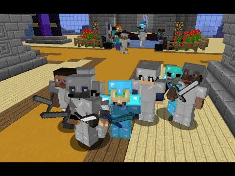 Minecraft Server Full PVP 1.7.4 Haciendo PVP!