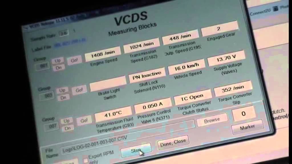 how to know when dpf is regenerated vcds