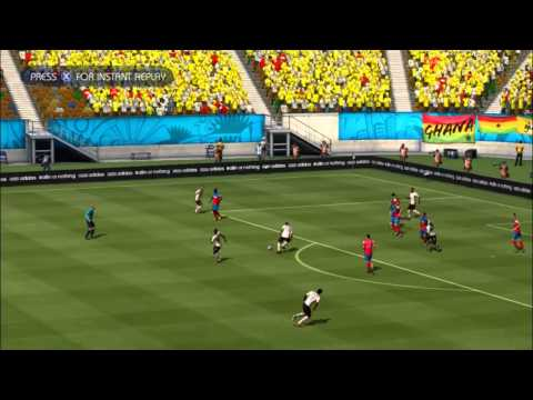GHANA - USA   FIFA World Cup 2014 (All Goals Highlights HD)