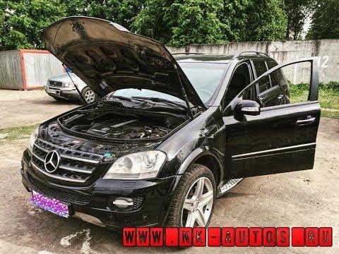Mercedes ML 500: Те