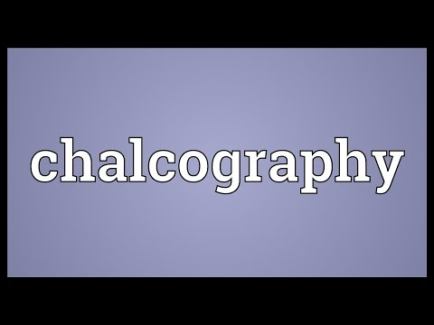 Header of chalcography