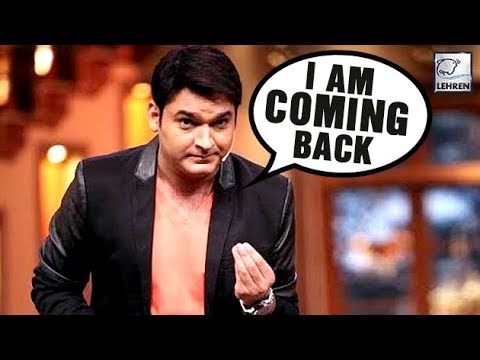 Kapil Sharma Is All Set To Make A Comeback On TV | Comedy Nights With Kapil