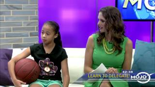 Interview with 9-year old basketball phenom, JADEN NEWMAN!
