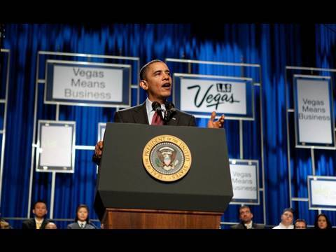 President Obama Addresses Business and Tourism Leaders