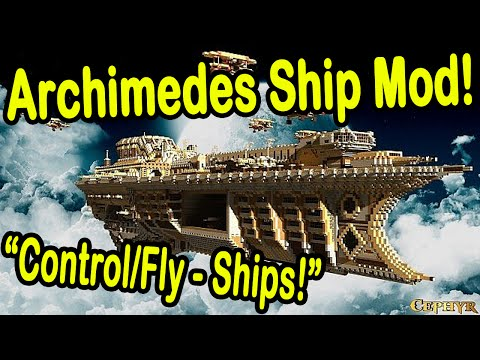 Minecraft | FLYING SHIPS MOD! | Join KotoAndSen!