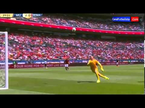 Manchester United vs AS Roma 3 2 International Champions Cup 2014