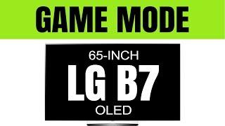(2017 OLED Game Mode) LG B7, C7, E7, G7, W7 TV -- Game Mode dim after Firmware Update?