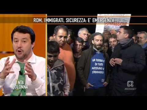 Matteo Salvini - Non è giusto che ai rom vengano pagate le bollette
