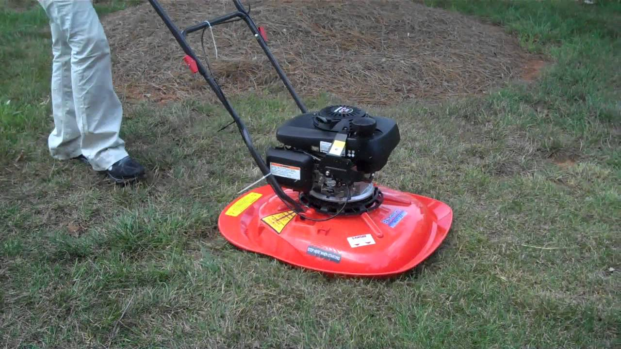 Watch on toro hover mower