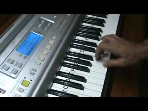 hansta hua noorani chehra - on keyboard by mmv