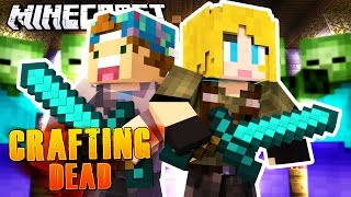 CHURCH FULL OF ZOMBIES! | Minecraft Crafting Dead