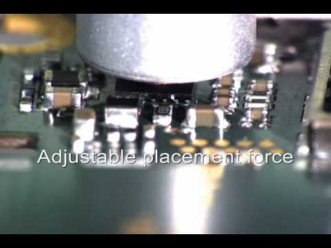 Micro BGA Rework with ATCO model AT-GDP Placement & Rework Station