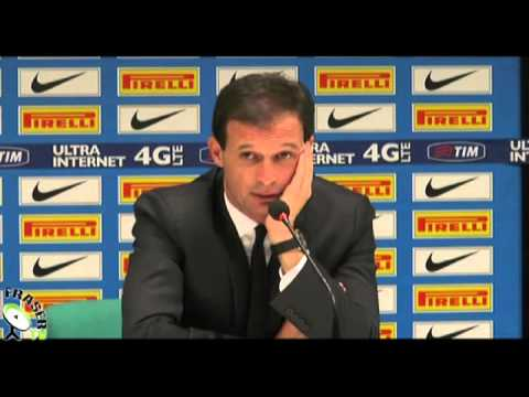 AC MILAN: Allegri post Inter