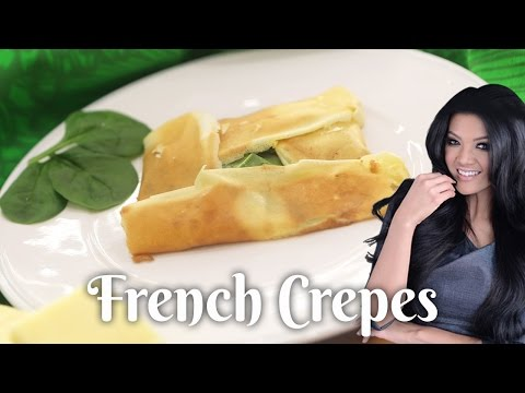 Resep Cheese, Spinach & Turkey Crêpes Farah Quinn