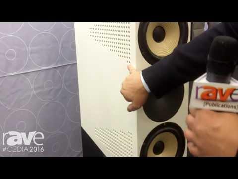 CEDIA 2016: Amphion Loudspeakers Promotes Krypton 3 Speaker