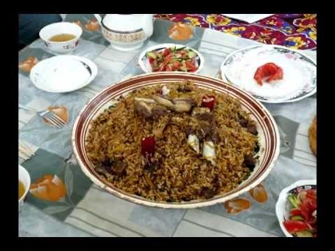 Cuisine of Central Asia: Plov and Lagman