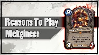 Hearthstone: Reasons To Play Mekgineer Thermaplugg