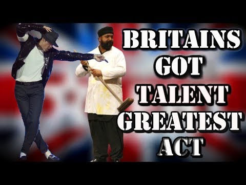 Britains Got Talent - MICHAEL JACKSON (Suleman Mirza - ALL performances) Video