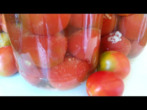 """Маринованные помидоры """"Пикантные""""!!!(в чесночном маринаде!!!)"""