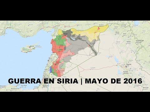 Guerra de Siria | Mayo de 2016