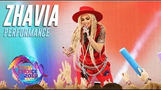 Zhavia WINS at Teen Choice! Her Performance and Award Acceptance | Teen Choice Awards 2019
