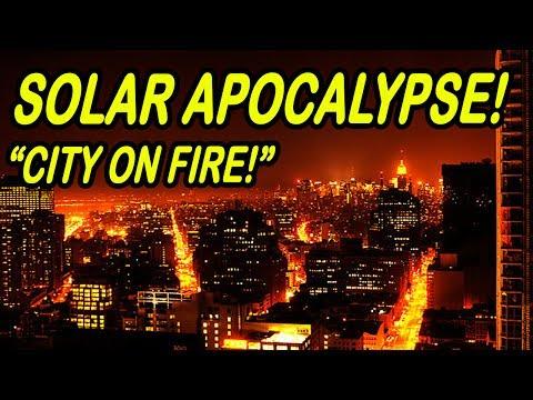 Minecraft | SOLAR APOCALYPSE | Entire City on FIRE!